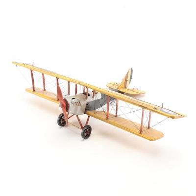 Curtiss JN-7H Jenny Biplane Model