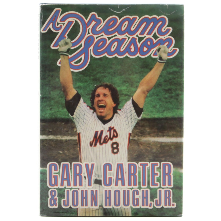 "Signed First Edition ""A Dream Season"" by Gary Carter, 1987"