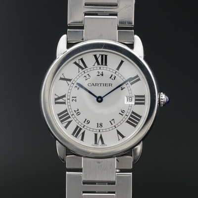 Cartier Ronde Solo de Cartier Quartz Wristwatch