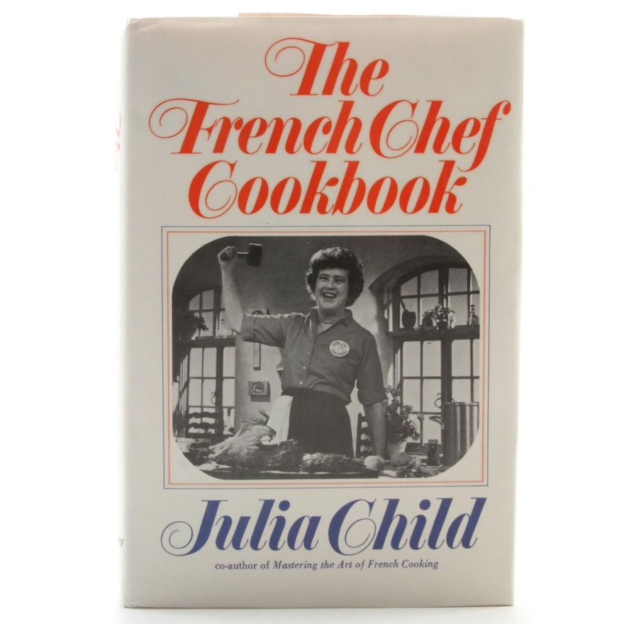"Julia Child Signed ""The French Chef Cookbook"", Fifteenth Printing Visual COA"