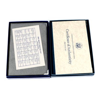 1986 and 1987 U.S. Mint Prestige Proof Sets