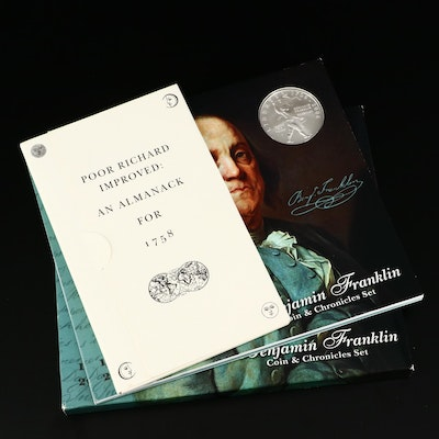 """Benjamin Franklin Coin & Chronicles Set"""