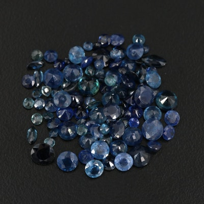 Loose 20.78 CTW Faceted Sapphires