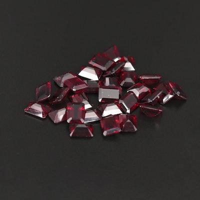 Loose 52.39 CTW Rhodolite Garnet