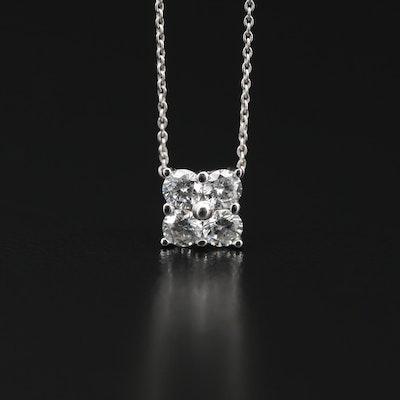 Odelia 18K Diamond Necklace