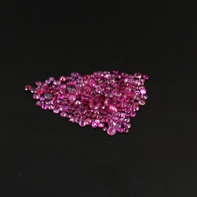 Loose 12.08 CTW Faceted Rubies