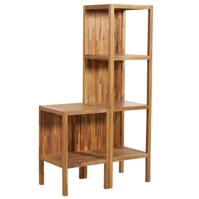 "Uttermost ""Gunnar"" Teak Shelves, Contemporary"