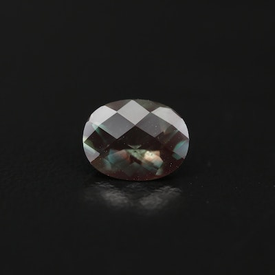 Loose 1.67 CT Oval Faceted Labradorite