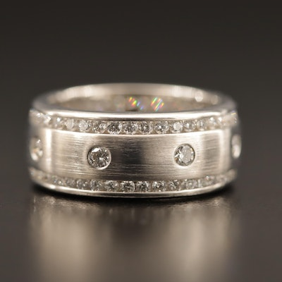 14K 1.56 CTW Diamond Band