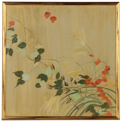 Pat Gastreich Botanical Oil Painting