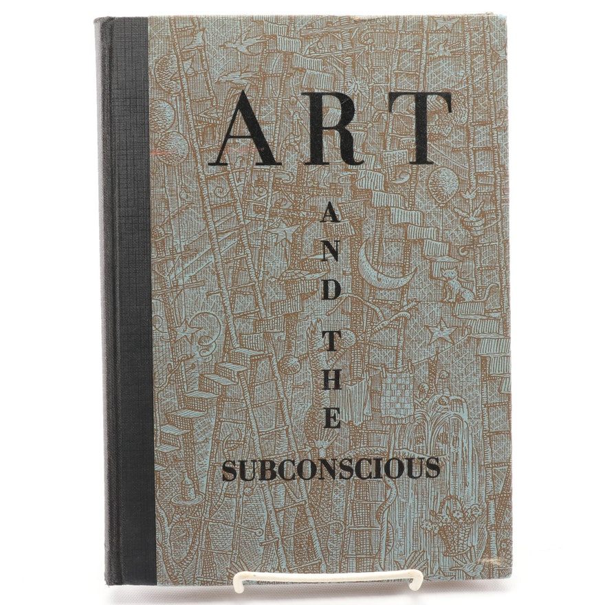 """First Edition """"Art and the Subconscious: Drawings"""" by André Smith, 1937"""