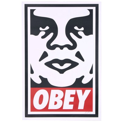 "Shepard Fairey Offset Poster ""Obey"", 2019"