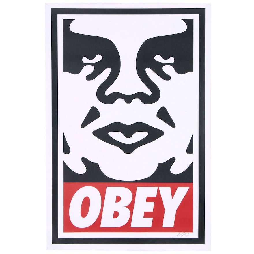 """Shepard Fairey Offset Poster """"Obey"""", 2019"""