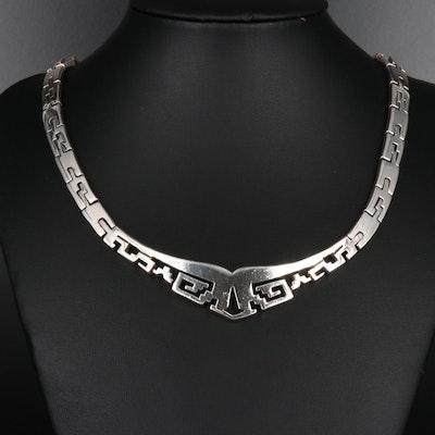Mexican 950 Silver Collar