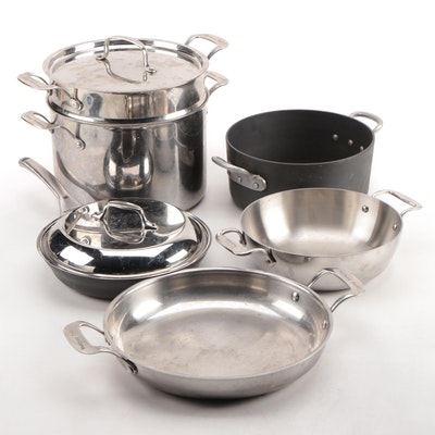 All-Clad Stainless Steel All-In-One Pan with Wolfgang Puck Cookware and More