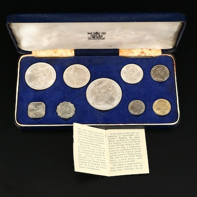 1966 Bahamas Royal Mint Coin Set