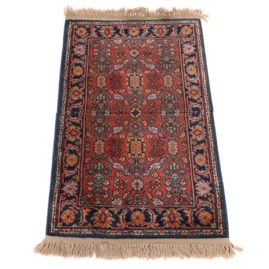 2'6 x 4'4 Power-Loomed Indo-Persian Tabriz Rug