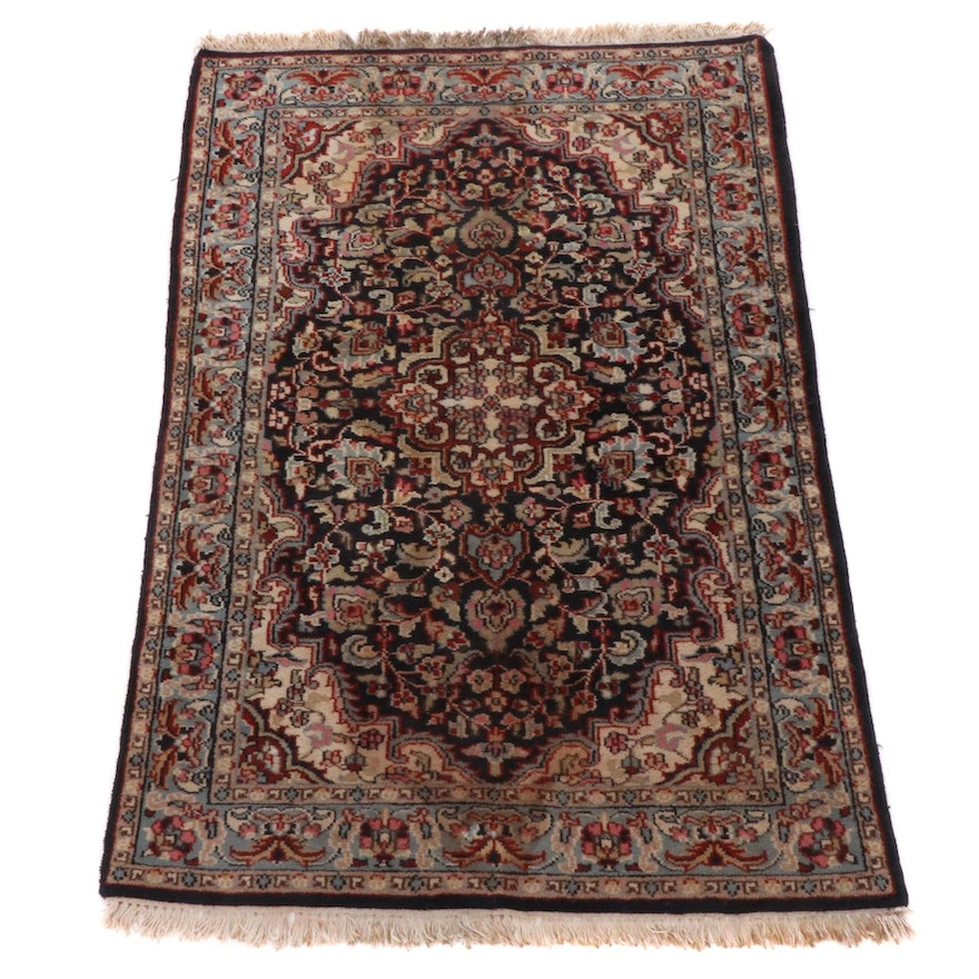 3'11 x 6' Hand-Knotted Persian Tabriz Rug