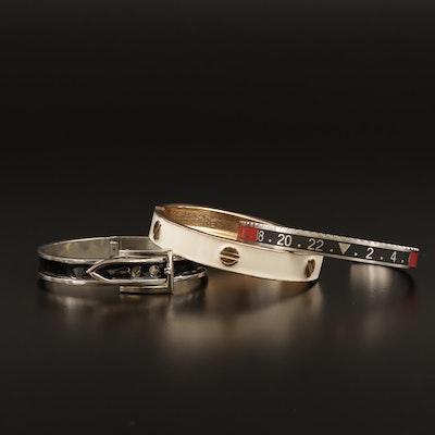 Bracelet Selection Featuring Enamel Accents
