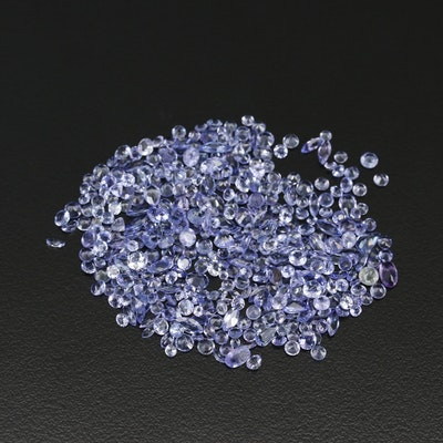 Loose 30.91 CTW Mixed Cut Tanzanites