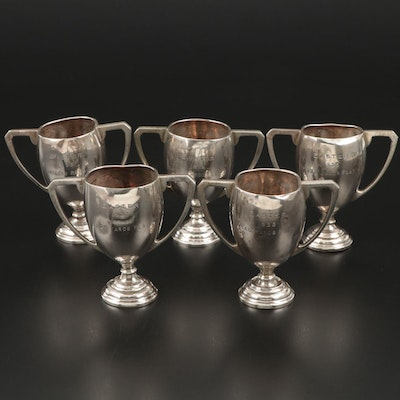 Mappin & Webb of Sheffield Sterling Track and Field Trophy Cups, 1932–1934