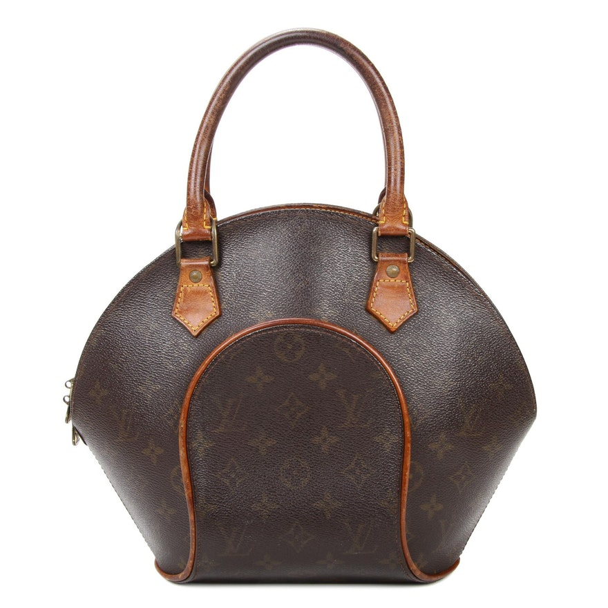 Louis Vuitton Ellipse PM in Monogram Canvas and Vachetta Leather