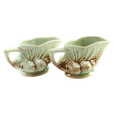 McCoy Art Pottery Ceramic Creamers