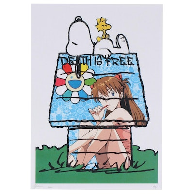 Death NYC Snoopy with Evangelion House Graphic Print, 2020