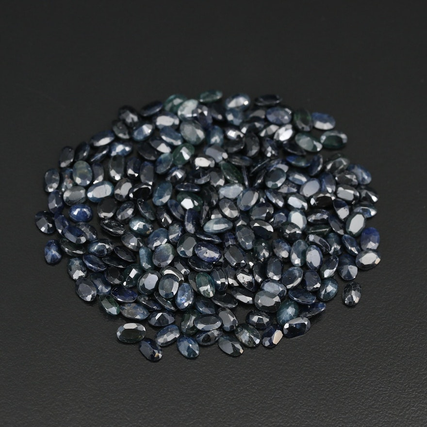 Loose 100.67 CTW Faceted Sapphires