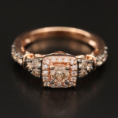 Le Vian 14K Rose Gold Diamond Ring