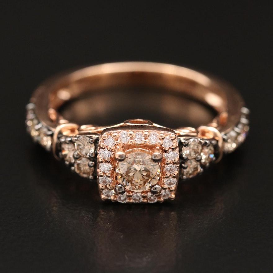 Le Vian 14K Rose Gold Diamond Ring