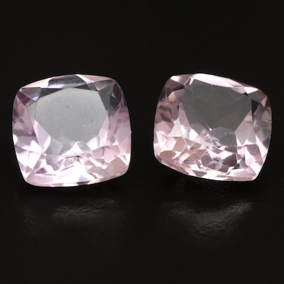 Loose 13.45 CTW Matched Pair Amethysts