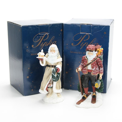 "Pipka Limited Edition ""Norweigian Julenisse"" and ""Peace Maker"" Figurines"
