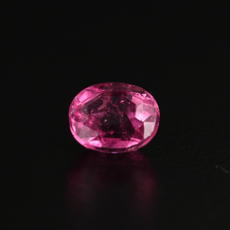 Loose 0.89 CT Faceted Tourmaline