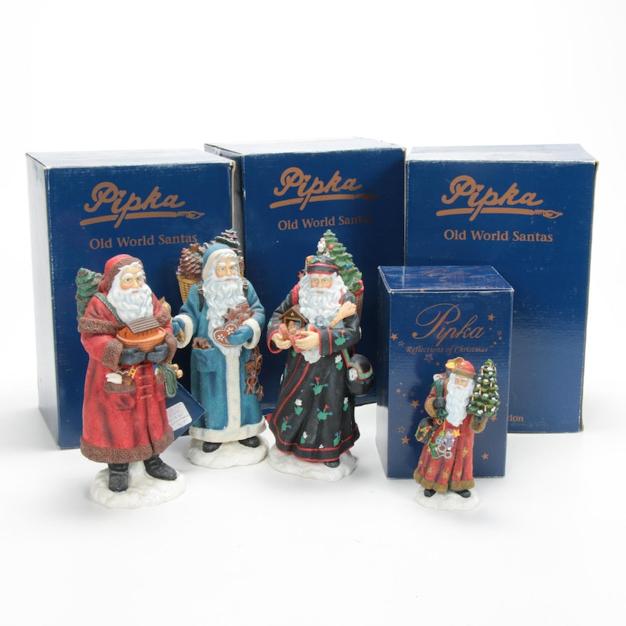 """Pipka """"Santa's Ark"""" and Other Limited Edition Christmas Figurines"""
