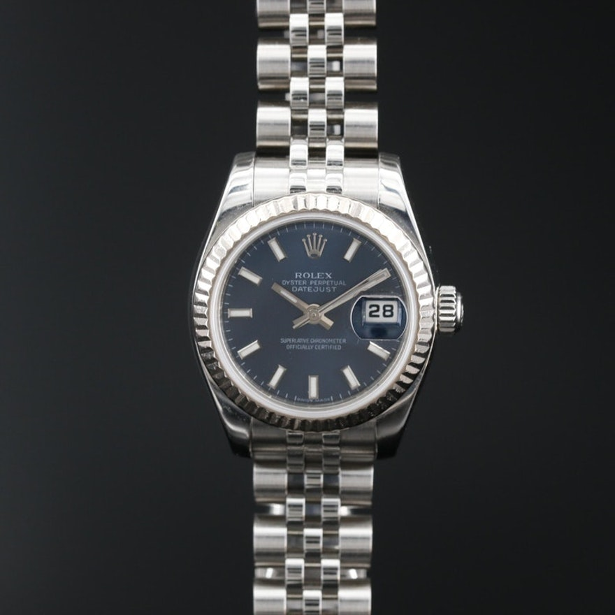 2005/2006 Rolex Datejust 18K and Stainless Steel Automatic Wristwatch