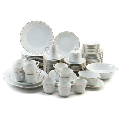 "Noritake ""Duetto"" Bone China Dinnerware, Late 20th Century"