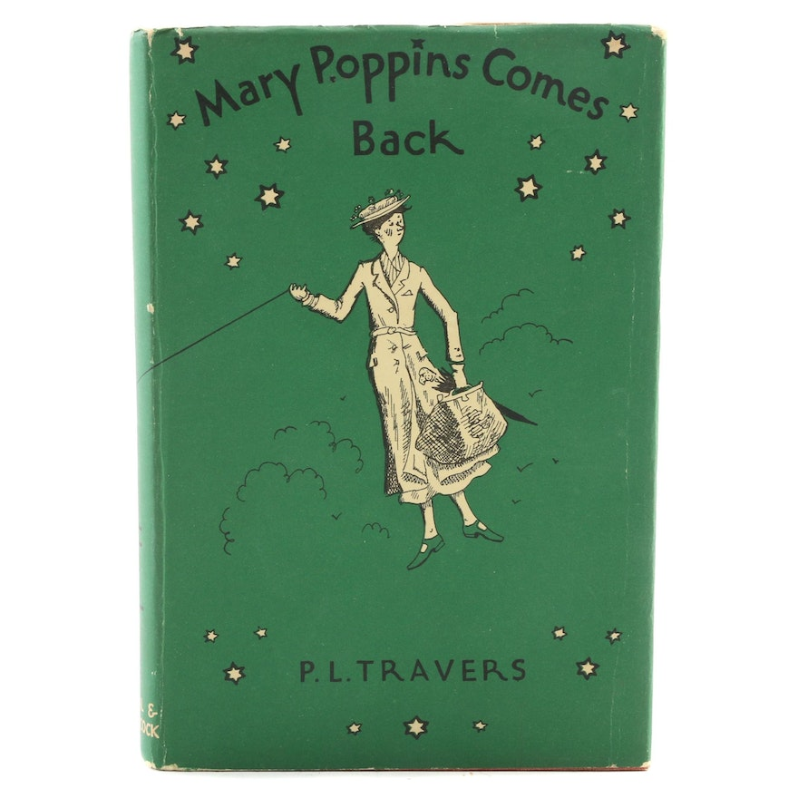 """Mary Poppins Comes Back"" by P. L. Travers, 1962"