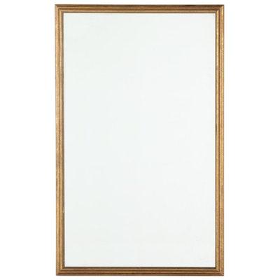 Gilt Rectangular Wall Mirror