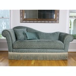 Kravet Furniture Chaise with Accent Pillows