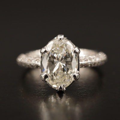 18K 2.52 CTW Diamond Ring