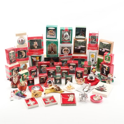 Hallmark, Enesco, Warner Brothers and Looney Toons Christmas Ornaments