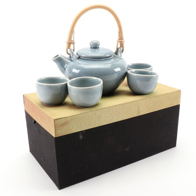 ECO Porcelain Tea Set in Presentation Box
