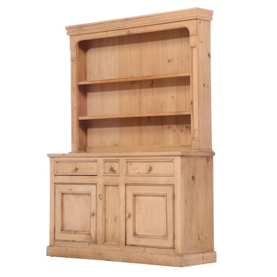 British Traditions Inc. Pine Two-Piece Dresser