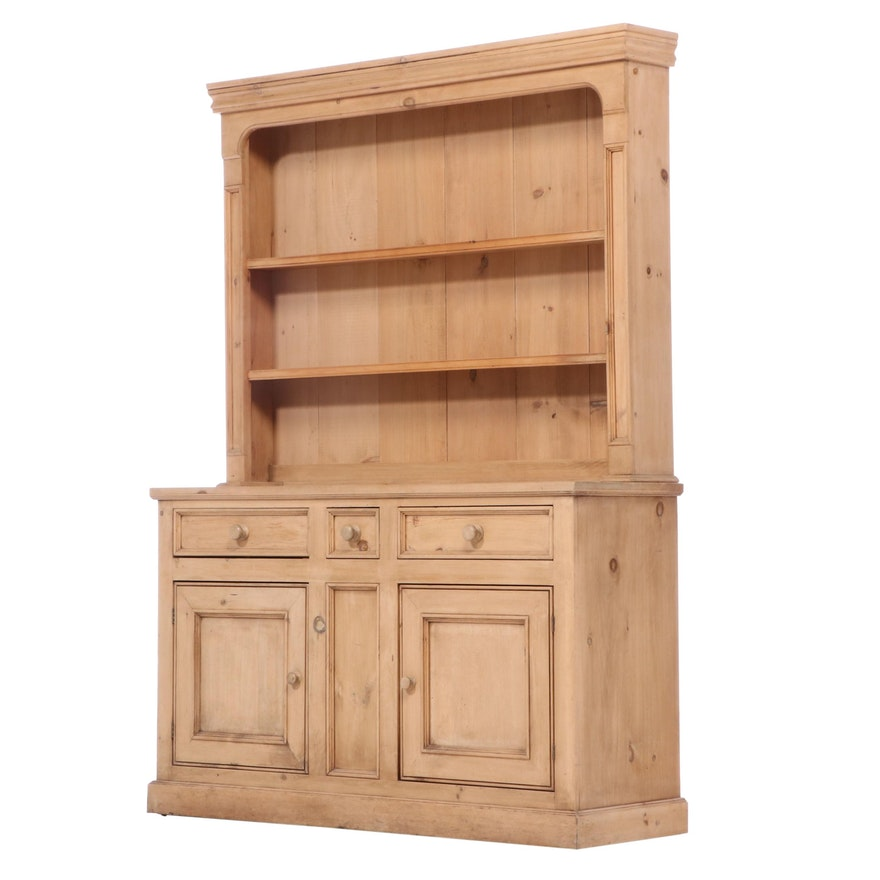 British Traditions Inc. Pine Two-Piece Dresser