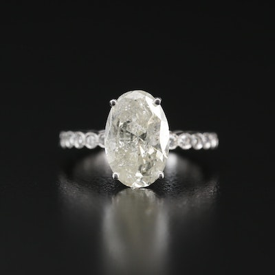 Hana 18K 3.41 CTW Diamond Ring