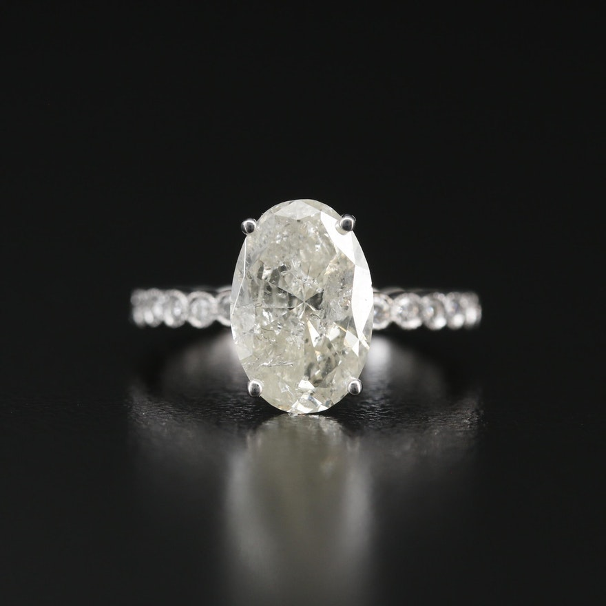 Hana 18K 3.41 CTW Diamond Ring