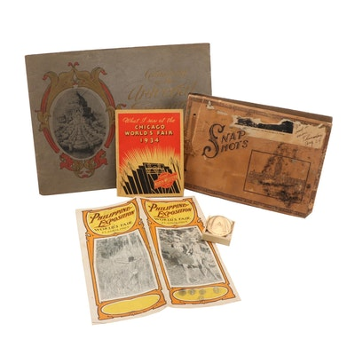 World's Fair Items, St. Louis and Chicago