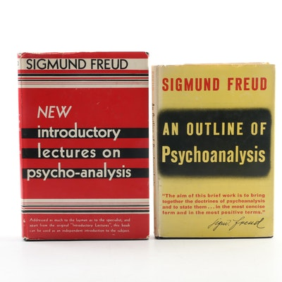 """An Outline of Psychoanalysis"" and ""New Introductory Lectures"" by Sigmund Freud"
