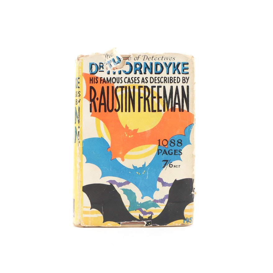 """First Edition """"The Famous Cases of Dr. Thorndyke"""" by R. Austen Freeman, 1929"""